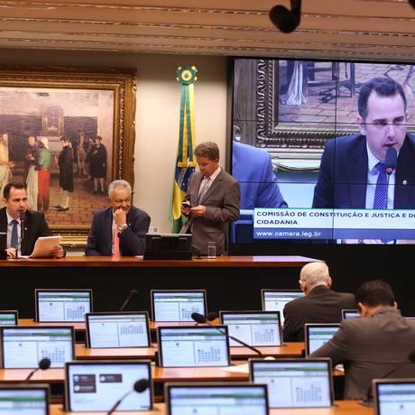 A Comissão de Constituição e Justiça da Câmara dos Deputados Foto: Ailton de Freitas / Agência O Globo