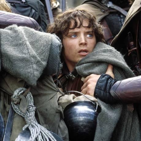 Elijah Wood em cena do filme 'O senhor dos anéis: As duas torres' Foto: Divulgação