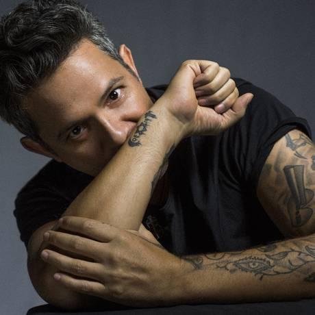 O cantor espanhol Alejandro Sanz Foto: Divulgação