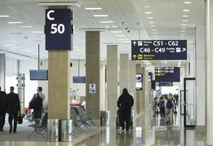 Dallas, Assunção e Varsóvia são alguns dos novos destinos atendidos pelo Aeroporto do Galeão Foto: Fernando Lemos / Agência O Globo