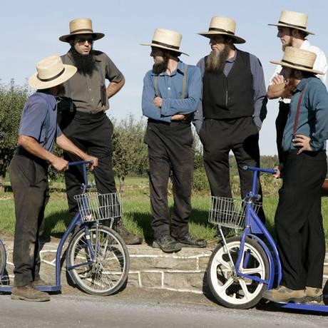 Mutação surgiu há seis gerações em comunidade Amish Foto: Matthew Cavanaugh / EFE