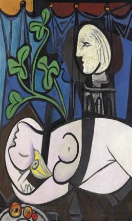 'Nu, folhas verdes e busto', de Pablo Picasso Foto: CHRISTIE'S / REUTERS