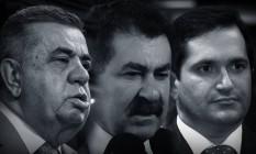 Os deputados Jorge Picciani, Paulo Melo e Edson Albertassi Foto: Montagem/O GLOBO