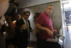 Picciani se entrega à PF, após Justiça determinar prisão do deputado Foto: Alexandre Cassiano / Agência O GLOBO