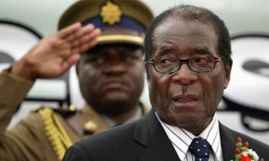 Presidente do Zimbábue, Robert Mugabe Foto: PHILIMON BULAWAYO / REUTERS