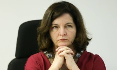 A procuradora-geral, Raquel Dodge, durante seminário Foto: Marcelo Camargo/Agência Brasil/30-10-2017