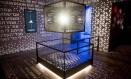 Sala sobre o velho testamento no Museu da Bíblia Foto: SAUL LOEB / AFP
