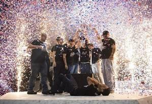 Team One, que tem o carioca Alanderson