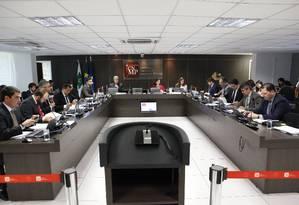 Sessão plenária do Conselho Nacional do Ministério Público Foto: Sergio Almeida/Divulgação/14-11-2017