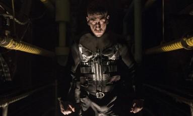 Jon Bernthal em 'O Justiceiro' Foto: Jessica Miglio / Divulgação