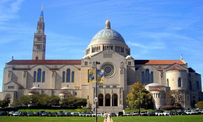 Washington DC / Estados Unidos / Basílica do Santuário Nacional da Imaculada Conceição, de 1959 Foto: National Shrine/Divulgação