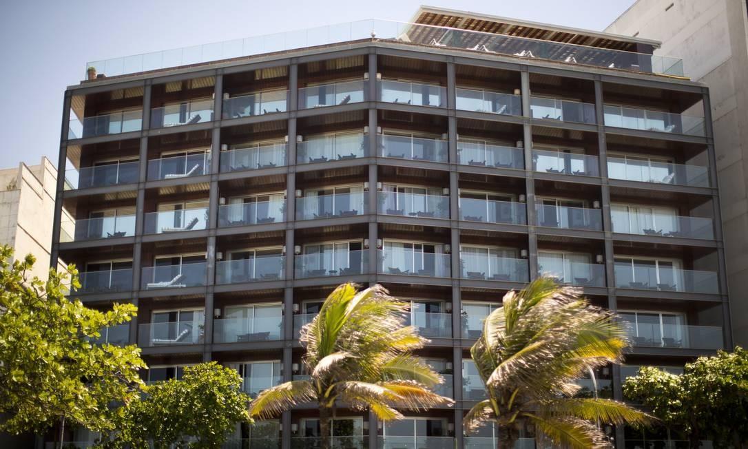 O projeto do Hotel Fasano, em Ipanema, é do designer francês Philippe Starck Foto: Márcia Foletto / Agência O Globo