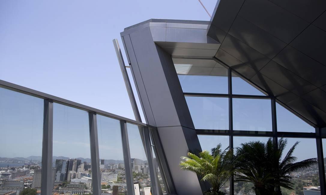 Aqwa Corporate é o primeiro projeto arquitetônico do Brasil Foto: Márcia Foletto / Agência O Globo