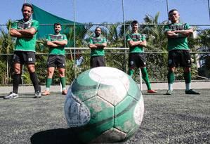 Time Alligaytors de Madureira vai participar do primeiro Campeonato Brasileiro de Futebol Gay Foto: Brenno Carvalho / Agência O Globo