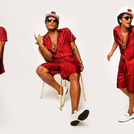Bruno Mars faz shows no Rio neste fim de semana Foto: Divulgação