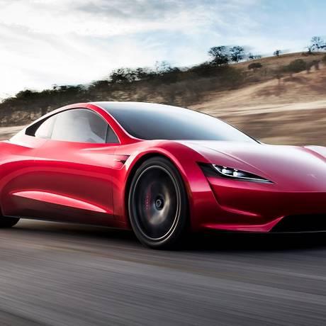 O visual futurístico e limpo é a marca registrada da Tesla Foto: Foto: Divulgação