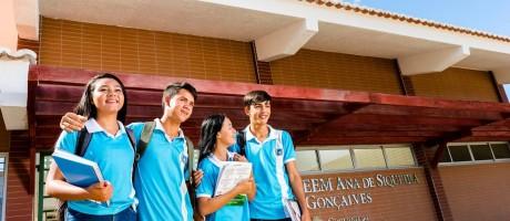 A mudança na educação do estado ocorreu pelo pacto firmado entre estado e municípios, independentemente de posições políticas. Foto: Marcos Studart/Gov. do Ceará