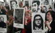 Bachelet participa de homenagem às vítimas da ditadura Foto: Luis Hidalgo / AP/10-9-2013