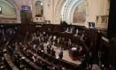 O plenário da Alerj durante votação sobre a prisão de Jorge Picciani, Paulo Melo e Edson Albertassi Foto: Alexandre Cassiano / Agência O Globo/17-11-17