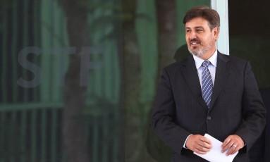 O novo diretor-geral da Polícia Federal, Fernando Segóvia, no Supremo Tribunal Federal Foto: Ailton de Freitas / Ailton de Freitas/Agência O Globo