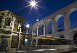 Fonte. A iluminação pública na cidade: Crivella quer fazer concessão por um prazo de 20 anos Foto: Guito Moreto / Agência O Globo