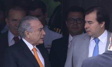 Temer quer acelerar as negociações em torno da reforma ministerial Foto: Jorge William 09-11-2017 / Agência O Globo