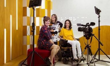 Ângela Patrícia, Fernanda Honorato e Juliana Oliveira: atração inclusiva Foto: Leo Martins