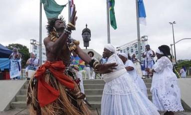 Evento em homenagem a Zumbi dos Palmares prega respeito entre religiões Foto: Márcio Alves