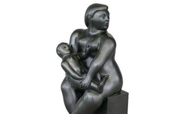 Estátua 'Maternidade', de Botero Foto: Reprodução