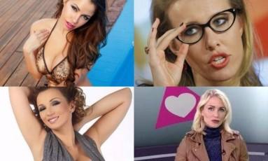 Aspirantes ao governo russo são marcadas pela beleza e com candidaturas bem-vindas pelo Kremlin Foto: Reprodução