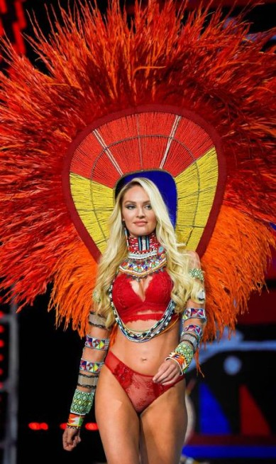 Candice Swanepoel FRED DUFOUR / AFP
