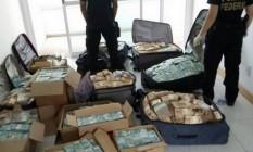 """PF apreende R$ 51 milhões em """"bunker"""" supostamente utilizado por Geddel Vieira Lima. Foto: divulgação/PF"""