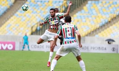 Fluminense e Ponte Preta se enfrentam no Maracanã Foto: Lucas Tavares / Agência O Globo