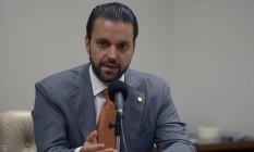 O deputado federal Alexandre Baldy (GO) em audiência na Câmara Foto: Leonardo Prado/Câmara dos Deputados/16-05-2017