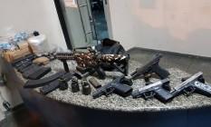 Bope apreendeu três granadas no Morro de São Carlos Foto: Divulgação/PM
