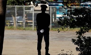 Japonesa se apresentou espontaneamente Foto: JONATHAN ERNST / REUTERS