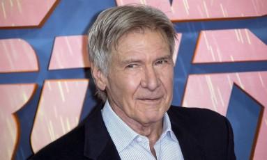 "Harrison Ford posa durante divulgação de ""Blade Runner 2049"" em Londres Foto: Joel Ryan / Joel Ryan/Invision/AP"