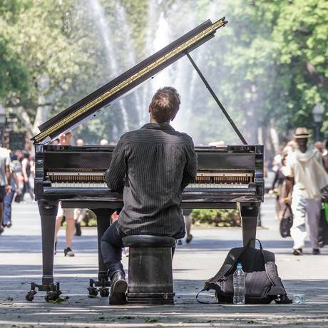 O prazer promovido pela música depende do sistema de recompensas do cérebro Foto: Robert Pastryk / PIXABAY