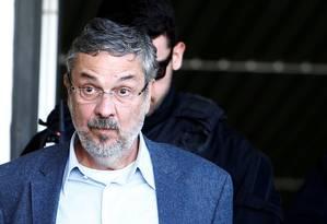 Ex-ministro Antonio Palloci, preso na Lava-Jato. Foto: Rodolfo Buhrer / Reuters