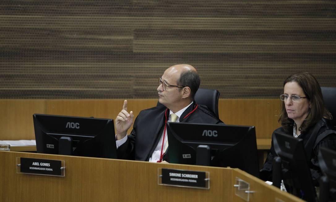 O desembargador Abel Gomes Foto: Pedro Teixeira / Arquivo O Globo