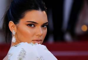 Kendall Jenner: aos 22 anos, ela acaba de destronar Gisele Bündchen como modelo mais bem paga do mundo Foto: Regis Duvignau / Reuters