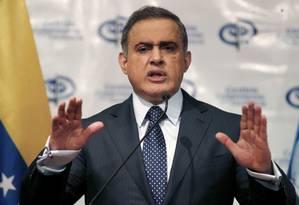 Procurador-geral Tarek William Saab acusou líderes da Citgo de conspirarem em esquema criminoso Foto: Ariana Cubillos / AP