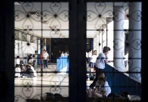 Colégio Pedro II em São Cristóvão Foto: Paula Giolito / Agência O Globo