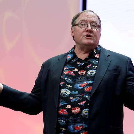 John Lasseter, cofundador e diretor de criação da Pixar Foto: Brendan McDermid / REUTERS