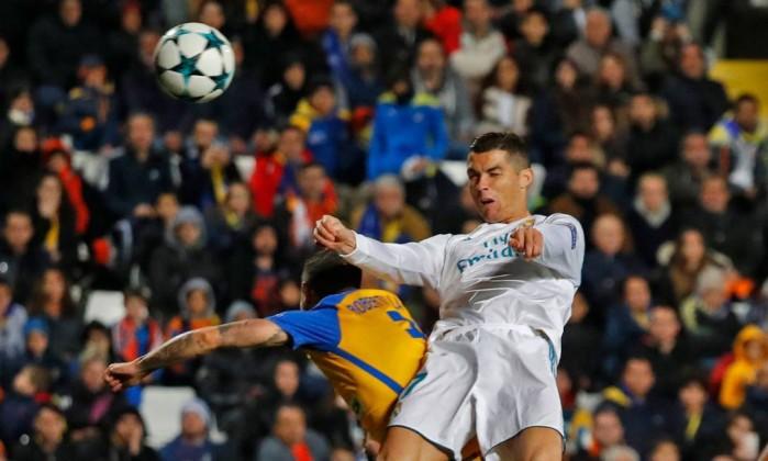 Cristiano Ronaldo votado com o melhor da jornada — Champions