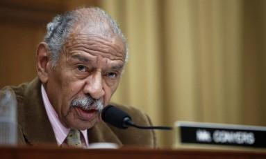 John Conyers está no Congresso desde 1965 Foto: Alex Brandon / AP