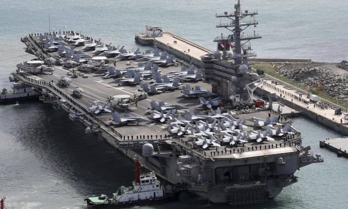 Avião militar dos EUA cai no mar das Filipinas. Buscas em curso