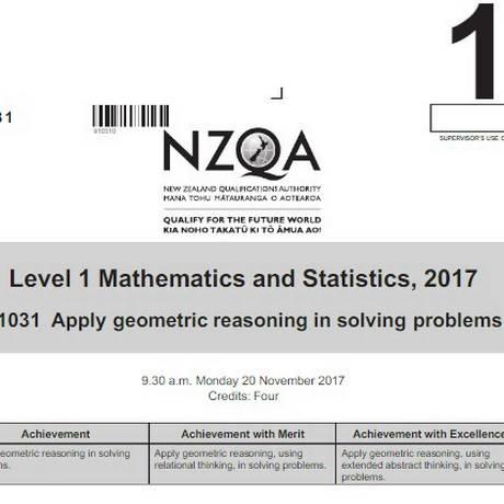 Prova foi criticada por professores de matemática Foto: Reprodução/NZQA