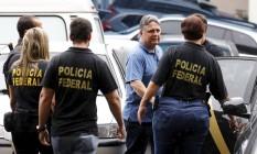 O ex-governadores do Estado do Rio de Janeiro Anthony Garotinho foi preso e levado a sede da Polícia Federal nesta manhã, no Rio Foto: Pablo Jacob / Agência O Globo