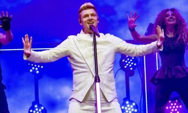 O cantor Nick Carter, dos Backstreet Boys Foto: Amy Harris/Invision/AP